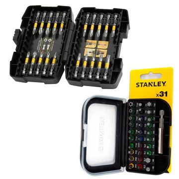 Купить инструмент Stanley Биты головки и свёрла в наборефирменный магазин Украина. Официальный сайт по продаже инструмента Stanley