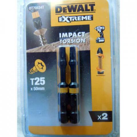 Купить аксессуары Бита ударная IMPACT TORSION EXTREME DeWALT DT70534T фирменный магазин Украина. Официальный сайт по продаже инструмента DeWALT