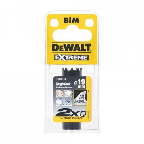 Купить аксессуары Цифенбор биметаллический диаметр 19 мм DeWALT DT8119L фирменный магазин Украина. Официальный сайт по продаже инструмента DeWALT
