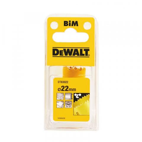 Купить аксессуары Цифенбор биметаллический диаметр 22 мм DeWALT DT83022 фирменный магазин Украина. Официальный сайт по продаже инструмента DeWALT
