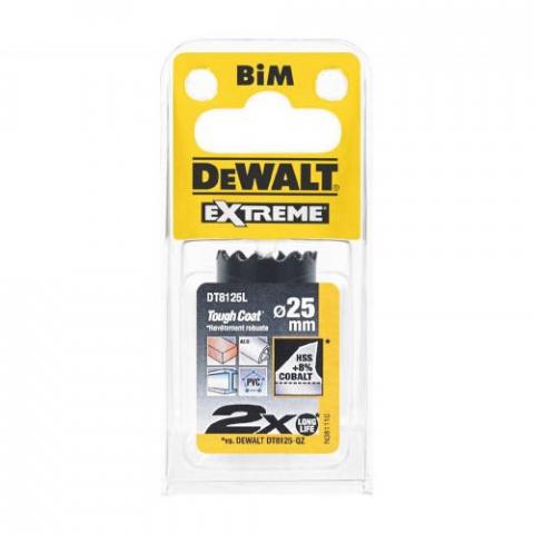 Купить аксессуары Цифенбор биметаллический диаметр 25 мм DeWALT DT8125L фирменный магазин Украина. Официальный сайт по продаже инструмента DeWALT