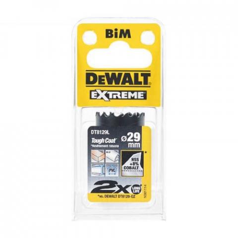 Купить аксессуары Цифенбор биметаллический диаметр 29 мм DeWALT DT8129L фирменный магазин Украина. Официальный сайт по продаже инструмента DeWALT