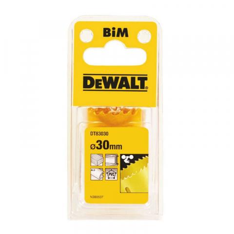 Купить аксессуары Цифенбор биметаллический диаметр 30 мм DeWALT DT83030 фирменный магазин Украина. Официальный сайт по продаже инструмента DeWALT