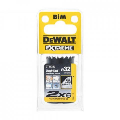 Купить аксессуары Цифенбор биметаллический диаметр 32 мм DeWALT DT8132L фирменный магазин Украина. Официальный сайт по продаже инструмента DeWALT