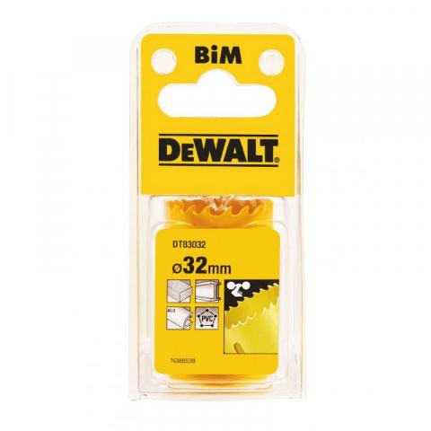 Купить аксессуары Цифенбор биметаллический диаметр 32 мм DeWALT DT83032 фирменный магазин Украина. Официальный сайт по продаже инструмента DeWALT