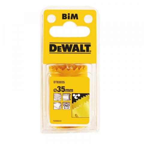 Купить аксессуары Цифенбор биметаллический диаметр 35 мм DeWALT DT83035 фирменный магазин Украина. Официальный сайт по продаже инструмента DeWALT