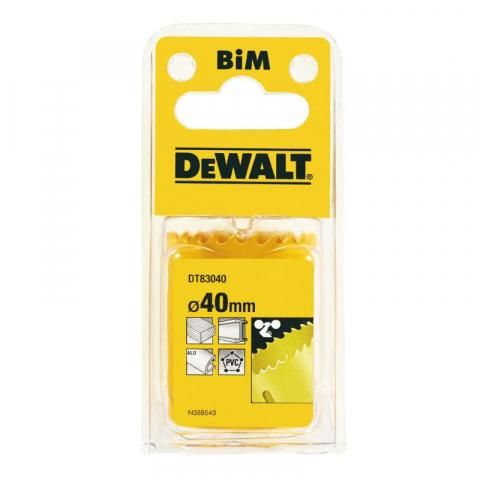 Купить аксессуары Цифенбор биметаллический диаметр 40 мм DeWALT DT83040 фирменный магазин Украина. Официальный сайт по продаже инструмента DeWALT