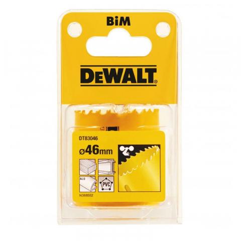 Купить аксессуары Цифенбор биметаллический диаметр 46 мм DeWALT DT83046 фирменный магазин Украина. Официальный сайт по продаже инструмента DeWALT