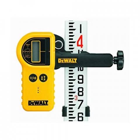 Купить аксессуары DeWALT Детектор цифровой водонипроницаемый лазерный с зажимом для ротационных лазеров DeWALT DE0772 фирменный магазин Украина. Официальный сайт по продаже инструмента DeWALT