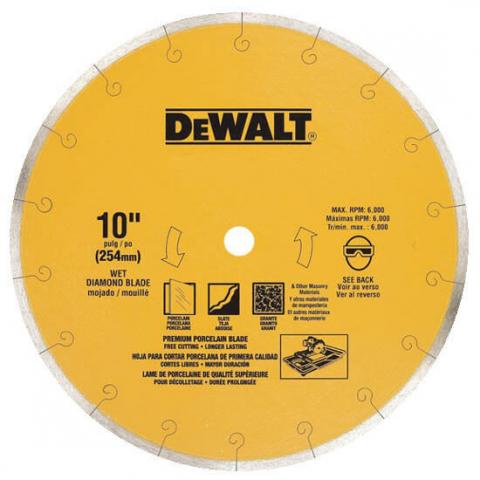 Купить аксессуары Диск алмазный отрезной DeWALT DT3734 фирменный магазин Украина. Официальный сайт по продаже инструмента DeWALT