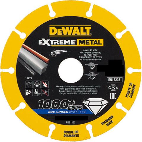 Купить аксессуары Диск алмазный по металлу DeWALT DT40259 фирменный магазин Украина. Официальный сайт по продаже инструмента DeWALT