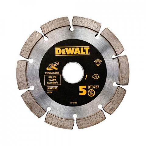 Купить аксессуары Диск алмазный специальный сегментированный DeWALT DT3757 фирменный магазин Украина. Официальный сайт по продаже инструмента DeWALT