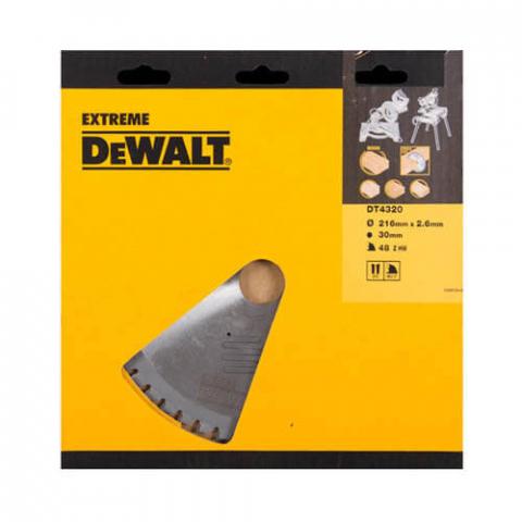Купить аксессуары Диск пильный DeWALT DT4320 фирменный магазин Украина. Официальный сайт по продаже инструмента DeWALT