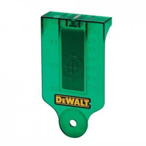 Купить аксессуары DeWALT Мишень-лучеуловитель для ротационных лазеров DeWALT DE0730G фирменный магазин Украина. Официальный сайт по продаже инструмента DeWALT