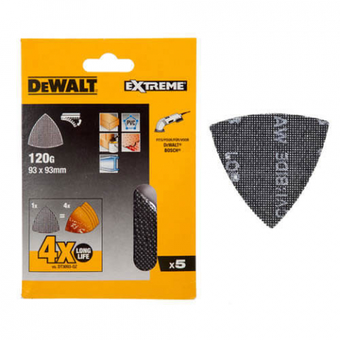Купить аксессуары Шлифлисты EXTREME для дельташлифмашин DeWALT DTM3095 фирменный магазин Украина. Официальный сайт по продаже инструмента DeWALT