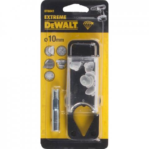 Купить аксессуары Сверло алмазное по керамической плитке диаметр 10 мм DeWALT DT6041 фирменный магазин Украина. Официальный сайт по продаже инструмента DeWALT