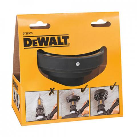 Купить аксессуары DeWALT Улавливатель шлама при сверлении в вертикальном положении для перфораторов SDS-Plus DeWALT DT89SCS фирменный магазин Украина. Официальный сайт по продаже инструмента DeWALT