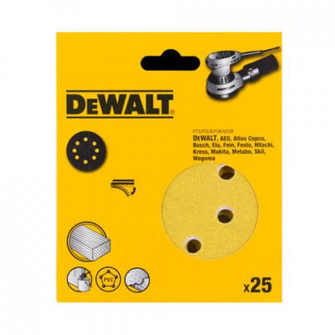 Купить аксессуары Упрочненная шлифовальная бумага DeWALT DT3200QZ фирменный магазин Украина. Официальный сайт по продаже инструмента DeWALT