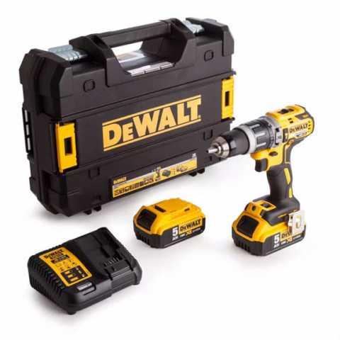 Купить Аккумуляторная ударная дрель-шуруповерт DeWALT DCD796P2. Инструмент DeWALT Украина, официальный фирменный магазин