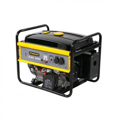 Купить инструмент Stanley Бензиновый генератор однофазный STANLEY E SG4000 фирменный магазин Украина. Официальный сайт по продаже инструмента Stanley