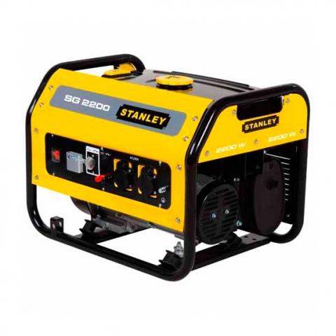 Купить инструмент Stanley Бензиновый генератор однофазный STANLEY SG2200 фирменный магазин Украина. Официальный сайт по продаже инструмента Stanley