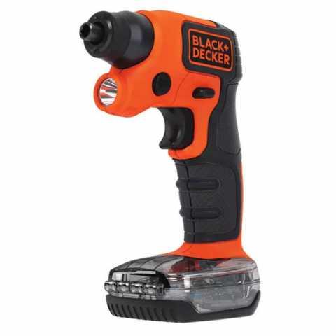 Купить Отвертка-фонарь аккумуляторная BLACK+DECKER BDCSFS30C. Инструмент Black Deker Украина, официальный фирменный магазин