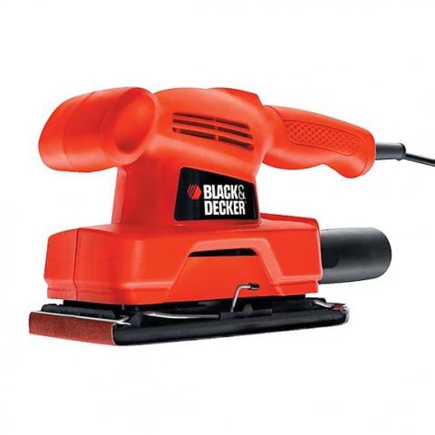 Купить инструмент Black Decker Вибрационная шлифмашина BLACK+DECKER KA300 фирменный магазин Украина. Официальный сайт по продаже инструмента Black Decker