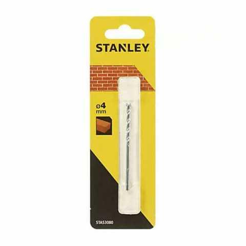 Купить Cверлo по кирпичу 4мм STANLEY STA53080. Инструмент DeWALT Украина, официальный фирменный магазин