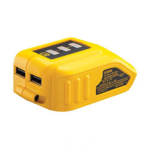 Купить инструмент DeWALT Адаптер USB зарядного устройства DeWALT DCB090 фирменный магазин Украина. Официальный сайт по продаже инструмента DeWALT