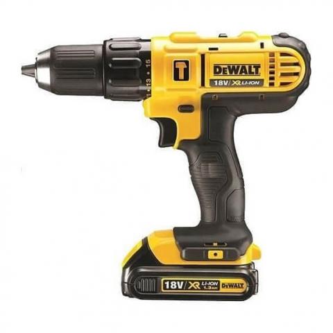 Купить инструмент DeWALT Дрель-шуруповерт c ударом DeWALT DCD776C2 фирменный магазин Украина. Официальный сайт по продаже инструмента DeWALT