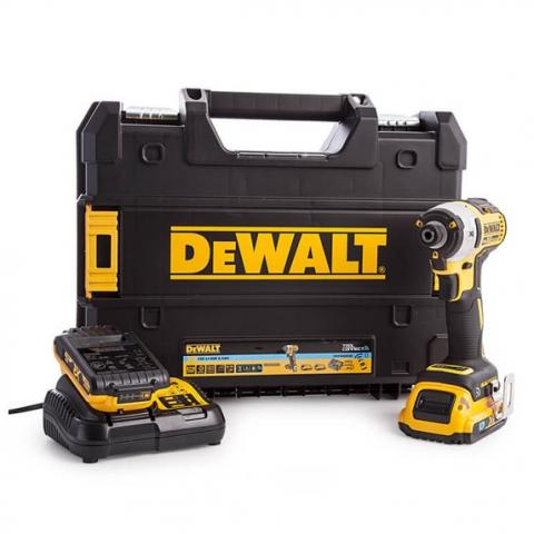 Купить инструмент DeWALT Гайковёрт аккумуляторный 18В 2Aч DeWALT DCF888D2B фирменный магазин Украина. Официальный сайт по продаже инструмента DeWALT