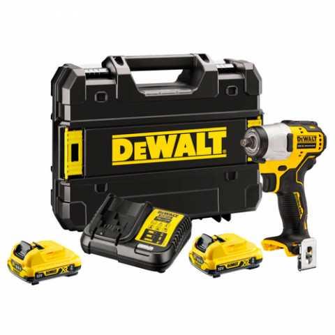 Купить Гайковёрт ударный аккумуляторный бесщеточный DeWALT DCF902D2. Инструмент DeWALT Украина, официальный фирменный магазин