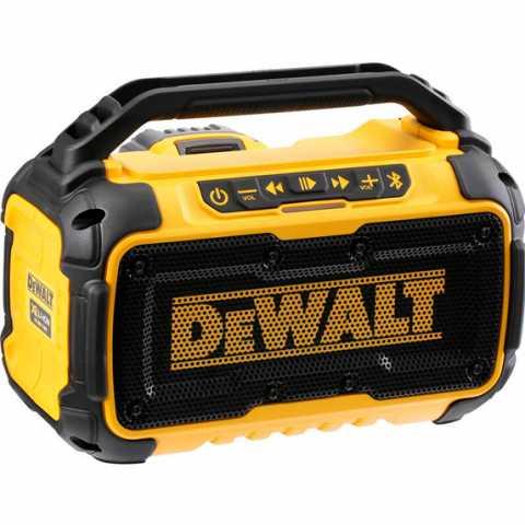 Купить инструмент DeWALT Колонка портативная аккумуляторная Bluetooth DeWALT DCR011 фирменный магазин Украина. Официальный сайт по продаже инструмента DeWALT