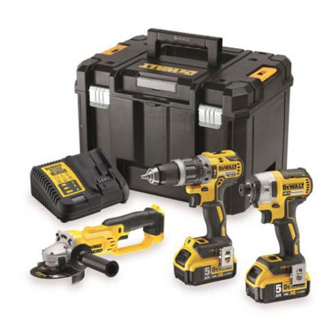 Купить инструмент DeWALT Набор из трех инструментов с бесщеточным двигателем DeWALT DCK383P2T фирменный магазин Украина. Официальный сайт по продаже инструмента DeWALT