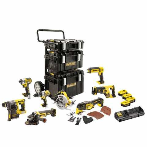 Купить инструмент DeWALT Набор из восьми инструментов бесщеточных DeWALT DCK853P4 фирменный магазин Украина. Официальный сайт по продаже инструмента DeWALT