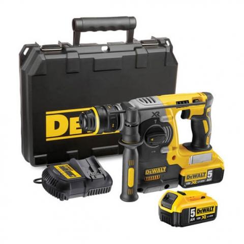 Купить инструмент DeWALT Аккумуляторный перфоратор SDS-Plus DeWALT DCH273P2 фирменный магазин Украина. Официальный сайт по продаже инструмента DeWALT