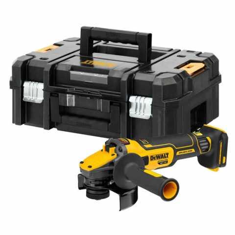 Купить Шлифмашина угловая - болгарка аккумуляторная бесщёточная DeWALT DCG409NT. Инструмент DeWALT Украина, официальный фирменный магазин
