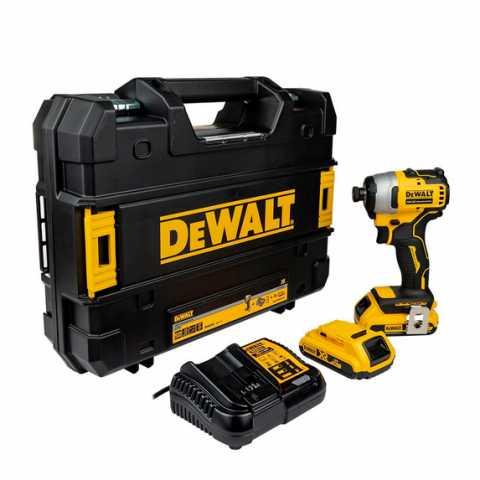 Купить Шуруповёрт аккумуляторный ударный бесщёточный DeWALT DCF809D2T. Инструмент DeWALT Украина, официальный фирменный магазин