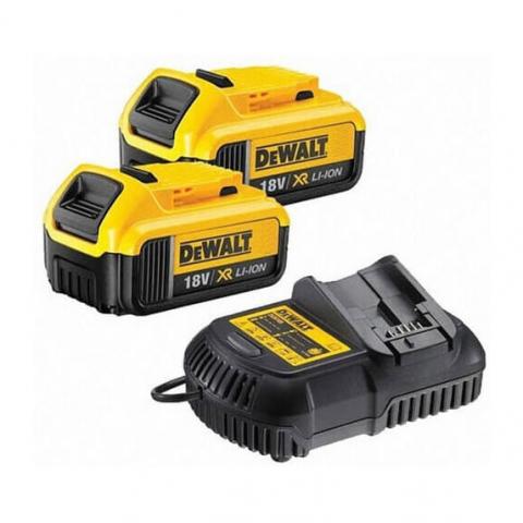 Купить инструмент DeWALT Зарядное устройство и 2 аккумулятора DCB184 5Ач DeWALT DCB105P2 фирменный магазин Украина. Официальный сайт по продаже инструмента DeWALT