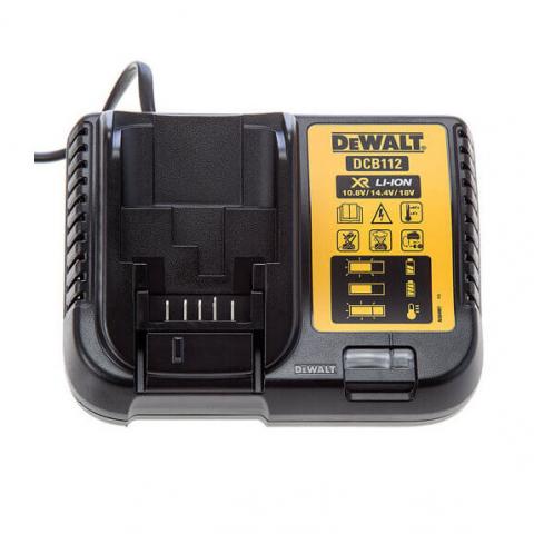Купить инструмент DeWALT Зарядное устройство DeWALT DCB112 фирменный магазин Украина. Официальный сайт по продаже инструмента DeWALT