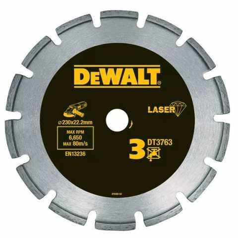 Купить Диск алмазный по граниту DeWALT DT3761. Инструмент DeWALT Украина, официальный фирменный магазин