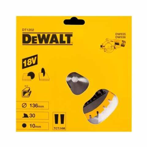 Купить Диск пильный DeWALT, Stanley Black&Decker DT1202. Инструмент DeWALT Украина, официальный фирменный магазин