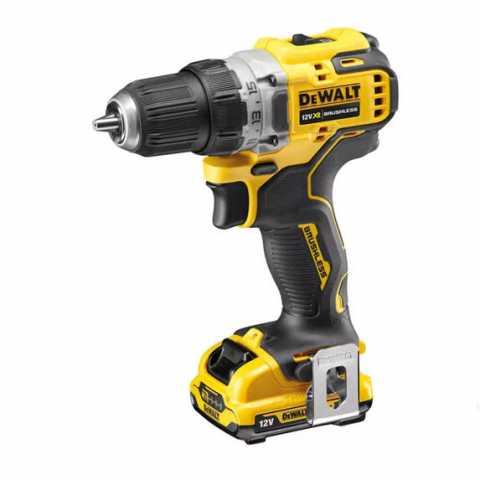 Купить Дрель-шуруповерт аккумуляторная бесщёточная DeWALT DCD701D2. Инструмент DeWALT Украина, официальный фирменный магазин