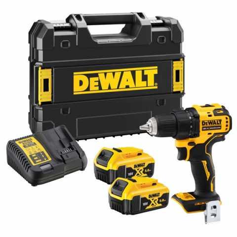 Купить Дрель-шуруповёрт аккумуляторная бесщёточная DeWALT DCD708P2T. Инструмент DeWALT Украина, официальный фирменный магазин