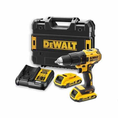 Купить Дрель-шуруповёрт аккумуляторная бесщеточная DeWALT DCD777D2T. Инструмент DeWALT Украина, официальный фирменный магазин