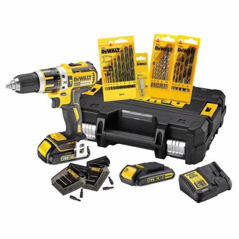 Купить Дрель-шуруповёрт аккумуляторная бесщеточная ударная DeWALT DCK795S2T. Инструмент DeWALT Украина, официальный фирменный магазин