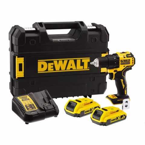 Купить Дрель-шуруповёрт аккумуляторная бесщёточная DeWALT DCD708D2T. Инструмент DeWALT Украина, официальный фирменный магазин