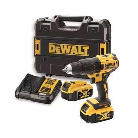 Купить Дрель-шуруповёрт аккумуляторная бесщёточная DeWALT DCD777M2T. Инструмент DeWALT Украина, официальный фирменный магазин