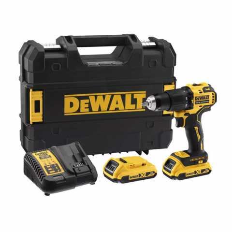 Купить Дрель-шуруповёрт аккумуляторная бесщёточная ударная DeWALT DCD709D2T. Инструмент DeWALT Украина, официальный фирменный магазин