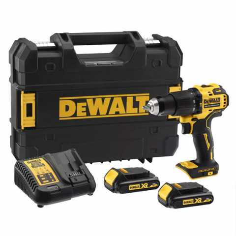 Купить Дрель-шуруповёрт аккумуляторная бесщёточная ударная DeWALT DCD709S2T. Инструмент DeWALT Украина, официальный фирменный магазин